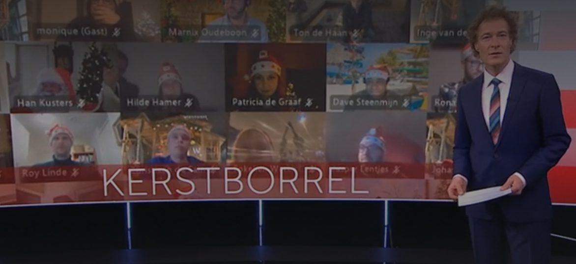 Online Kerstborrel NOS