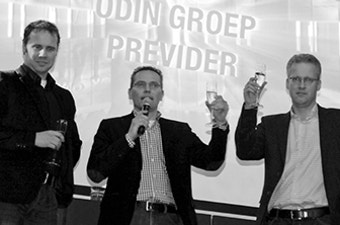 2010 Oprichting Odin Groep